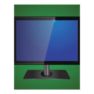 tv screen letterhead