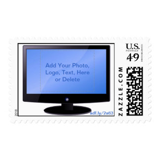 TV Screen U.S. Postage Stamps