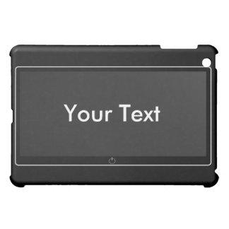 TV screen, Your Text iPad Mini Cases