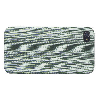 TV Signal with White Noise iPhone 4 Case