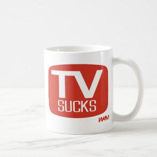 TV SUCKS COFFEE MUG