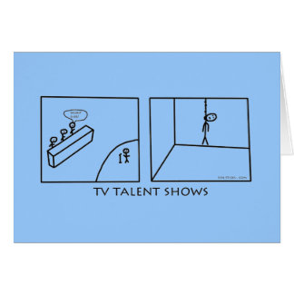 TV Talent Shows Card