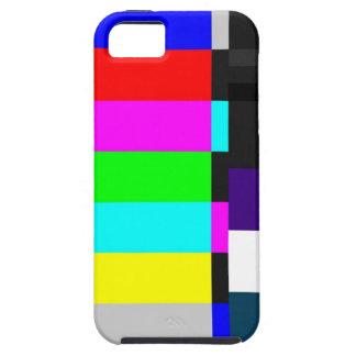 TV Test Screen iPhone 5 Case