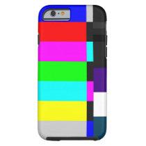 TV Test Screen iPhone 6 case