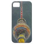 Tv Tower (Fernsehturm), Berlin, Art Effect iPhone 5 Cases