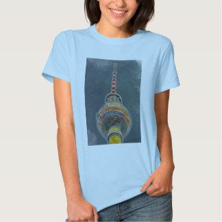 Tv Tower (Fernsehturm), Berlin, Art Effect Shirts