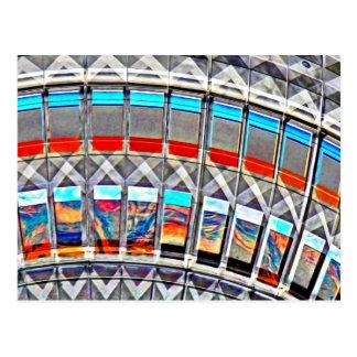 Tv Tower (Fernsehturm), Berlin, Artistic (tv15emb) Postcard