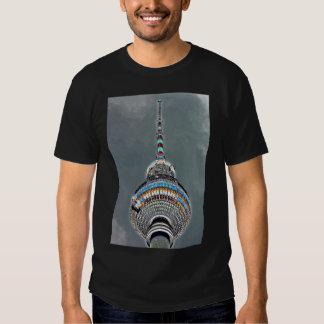 Tv Tower (Fernsehturm), Berlin, Artistic (tv2art2) Tee Shirt