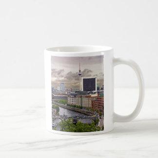 Tv Tower (Fernsehturm), Berlin, Panoramic(tv11pst) Classic White Coffee Mug