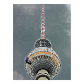 Tv Tower (Fernsehturm), Berlin (tv2) Postcard