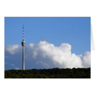 TV tower Stuttgart Greeting Card