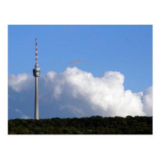 TV tower - Stuttgart Postcard