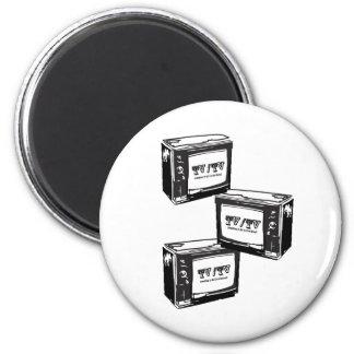 Tv / Tv 2 Inch Round Magnet