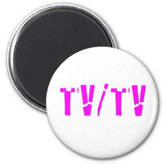 TV/TV 2 INCH ROUND MAGNET