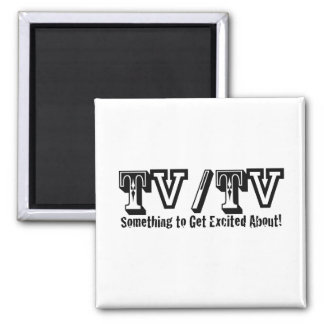 TV / TV 2 INCH SQUARE MAGNET