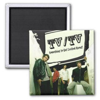TV/TV 2 INCH SQUARE MAGNET