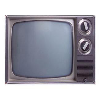 TV vieja Tarjetas Postales