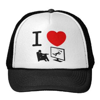 TV Watching Trucker Hat