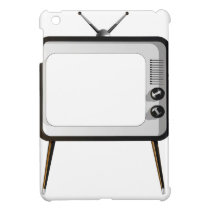 TV with empty screen Case For The iPad Mini