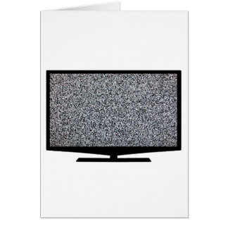 TV with static Card