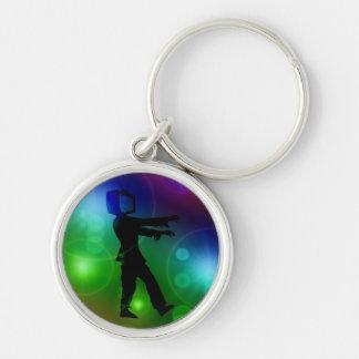 TV Zombie Keychain