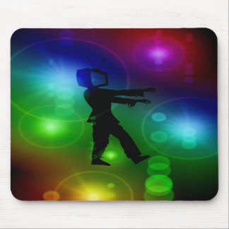 TV Zombie Mouse Pad