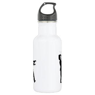 TV Zombie Stainless Steel Water Bottle