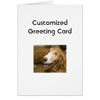 TVAR Customized Greeting Card