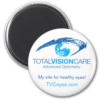 TVC_Logo w/ AO, My site for healthy eyes+web site Magnet