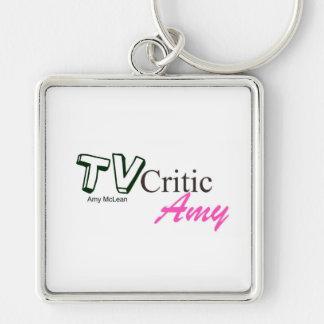 TVCriticAmy logo keyring Key Chain