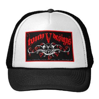 TVD Bordered Logo Trucker Hat