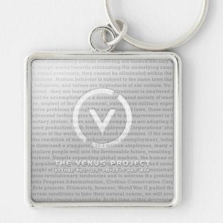 TVP Chrome Keychain