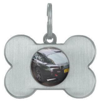 TVR Sagaris Sportscar Placas Mascota