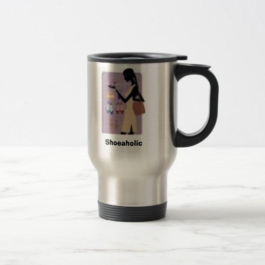 TW6, Shoeaholic Travel Mug