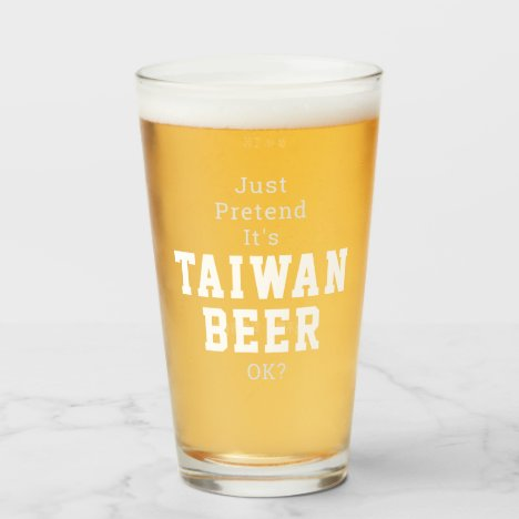 TW BEER Glass Cup