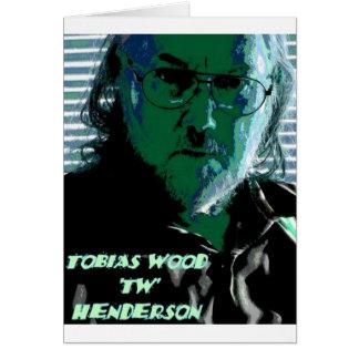 TW Henderson 1945-2009 Blues Greeting Card
