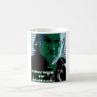 TW Henderson 1945-2009 Blues Classic White Coffee Mug
