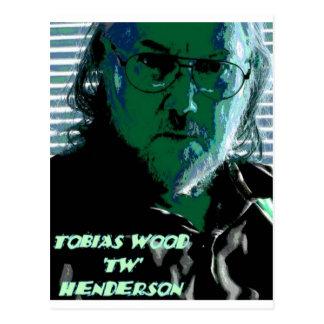 TW Henderson 1945-2009 Blues Postcard