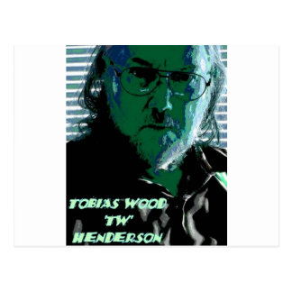 TW Henderson 1945-2009 Blues Postcards