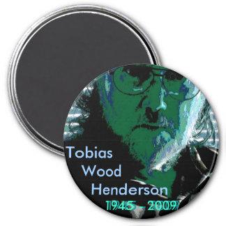 TW Henderson 1945-2009 Blues Refrigerator Magnet
