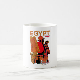 TWA Egipto - el Pharoahs Taza Clásica