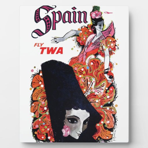 TWA - España Placa