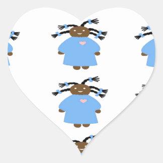 TWA Hair inspired product Heart Sticker