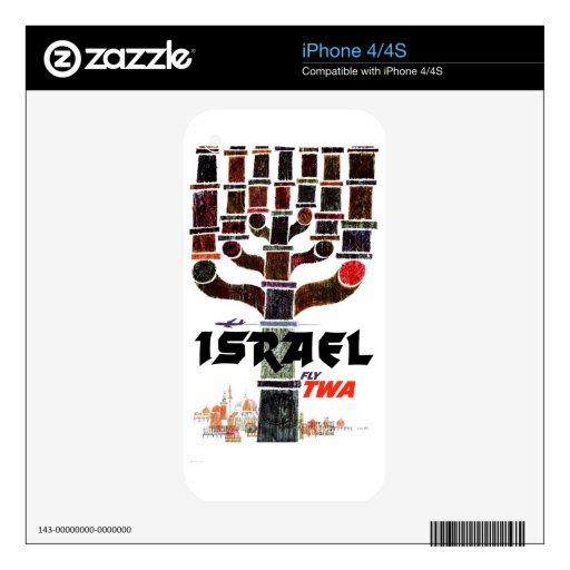 TWA - Israel iPhone 4 Skins