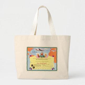TWA Oceanus Atlanticus Certificate - Customizable Bag