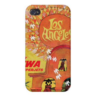 TWA Superjets - Los Angeles iPhone Case iPhone 4 Cases