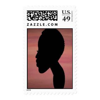 TWA (teeny weeny afro) stamp