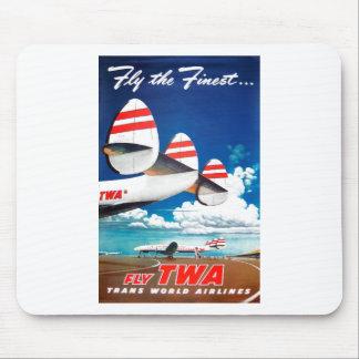 TWA - Vuele el más fino Tapetes De Ratones
