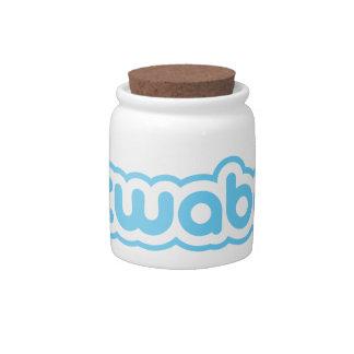 twabe candy jars