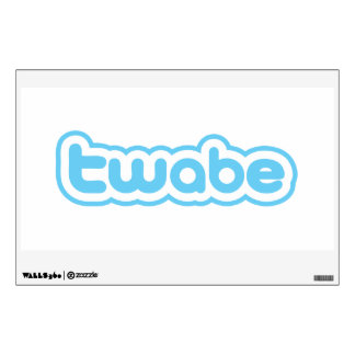 twabe wall decal